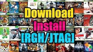 Jtag Tutorials | Downloading and Installing Games