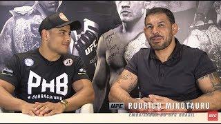 "Corner: Rodrigo Minotauro entrevista Paulo ""Borrachinha"""