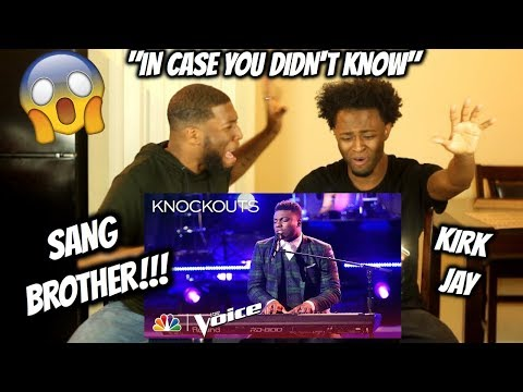 "Kirk Jay Astounds Again with ""In Case You Didn't Know"" - The Voice 2018 Knockouts"