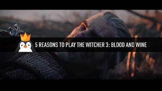 5 Reasons to play Witcher 3: Blood and Wine