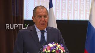 Russia: Ceasefire being violated 'too frequently in Idlib - Lavrov