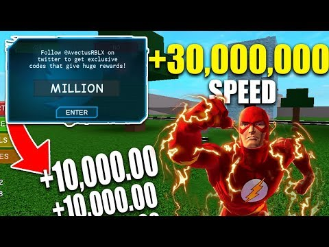 THE *LATEST* SPEED SIMULATOR 2 CODES AND UPDATE 2018 *THE FLASH* (Roblox)