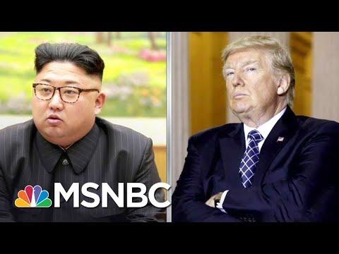 Donald Trump Dangerous Bellicosity Raises Nuclear War Risk With North Korea   Rachel Maddow   MSNBC