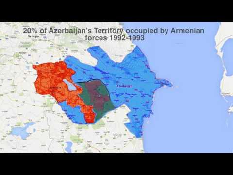 Borders - Azerbaijan/Armenia - Nagorno Karabakh