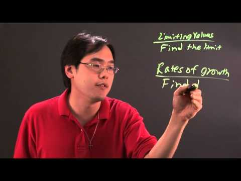 How To Calculate Limiting Values In Rates Of Growth In Calculus