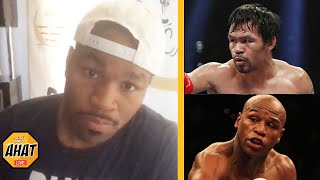 Shawn Porter on who had the better career Manny Pacquiao or Floyd Mayweather | boxing news