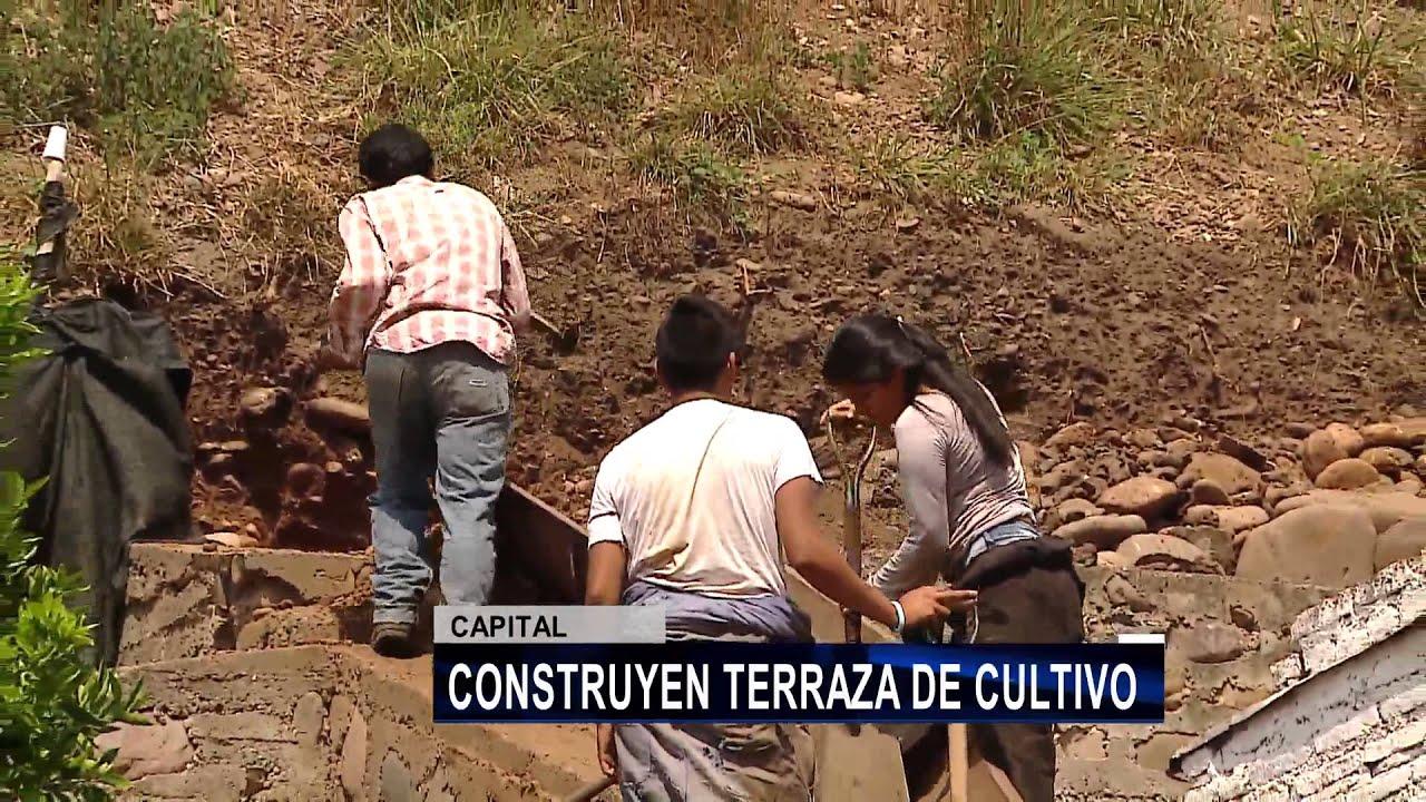 Construcción De Terraza De Cultivo