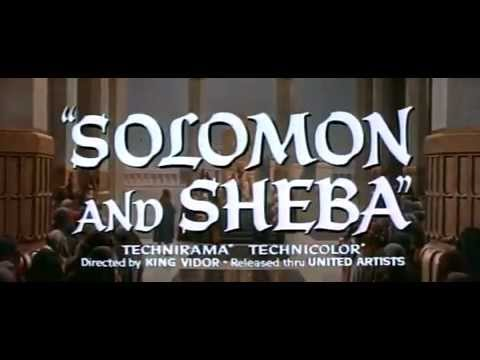 Solomon and Sheba   Original Trailer
