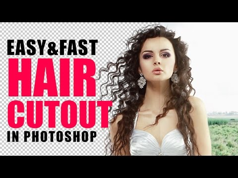 How to Cut Out Hair with Topaz Remask in Photoshop