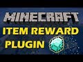 Reward your friends in Minecraft with Item Rewards Plugin