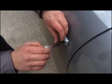 Открываем без ключа дверь AUDI Q5 2013 за одну минуту