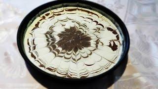 Как приготовить пирог зебра | Готовим вкусный пирог зебра | Пирог зебра | Пирог зебра на сметане