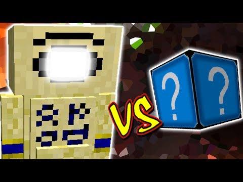 MONSTRO DE AREIA VS. LUCKY BLOCK CRYSTAL (MINECRAFT LUCKY BLOCK CHALLENGE SAND BEAST)