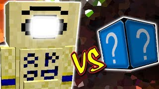 MONSTRO DE AREIA VS. LUCKY BLOCK CRYSTAL (MINECRAFT LUCKY BLOCK CHALLENGE SAND BEAST)