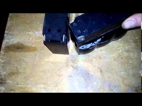 Аккумулятор дельта ( delta ) 4 или 5 ампер? ответ внутри - YouTube