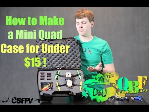A VIEW of How to: Make a Mini Quad Case for Under $15
