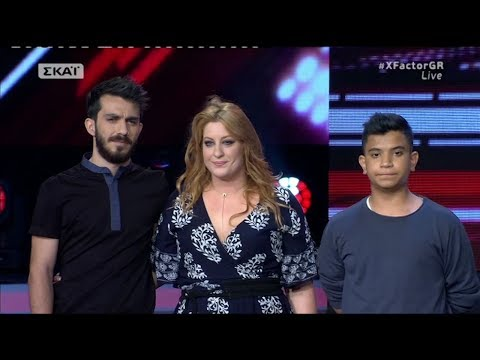 XFactor Greece 2017 Live 4  - Coda Project vs Alexandros Sagouris