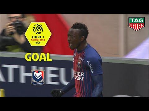 Goal Casimir NINGA (28') / Stade de Reims - SM Caen (2-2) (REIMS-SMC) / 2018-19