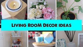 Living Room Decor Ideas | Minimalist & Budget Friendly
