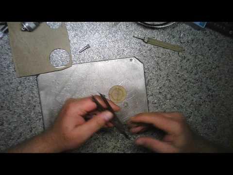 Как вырезать уплотнительное кольцо - (мой вариант).