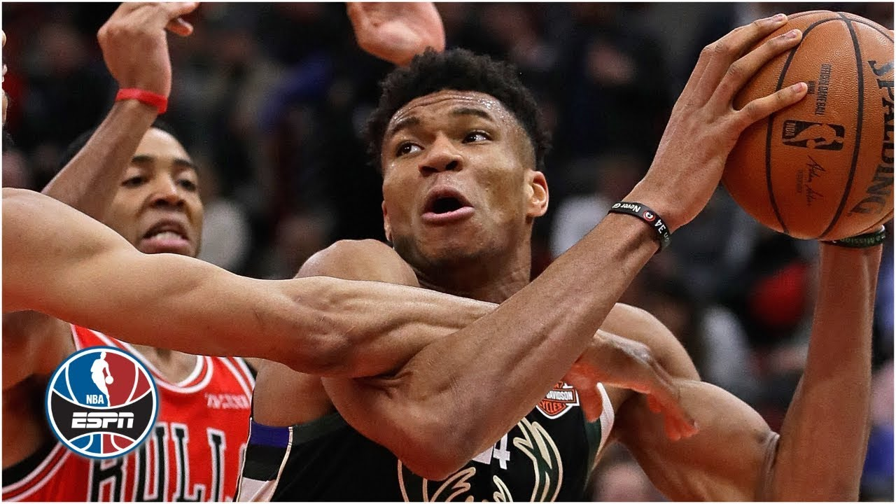 Giannis Antetokounmpo leads Bucks to double-digit win over Bulls | NBA Highlights