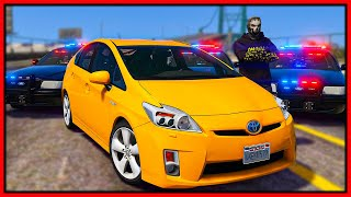 GTA 5 Roleplay - SLOWEST CAR EMBARRASSED COPS IN CHASE  | RedlineRP