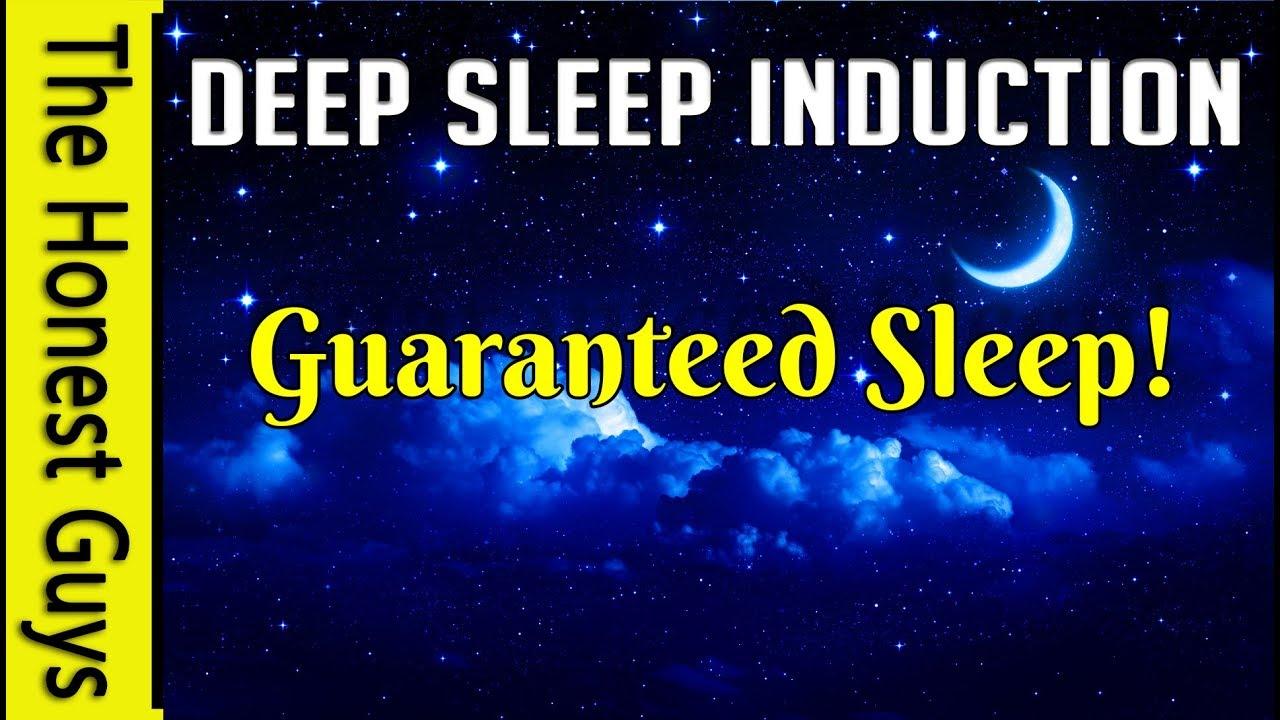 DEEP SLEEP INDUCTION  Guided Sleep Talkdown with Delta-Wave Isochronic  Tones & Binaural Beats