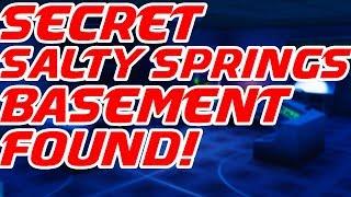 Secret Salty Springs Basement! Fortnite Mobile GamePlay