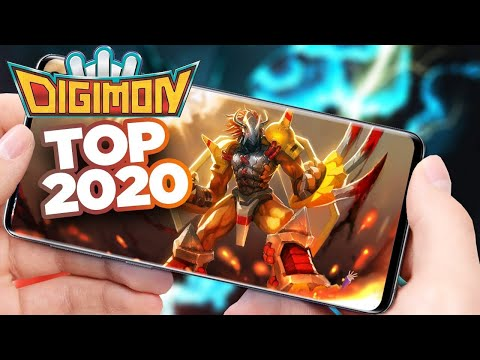 Top Digimon Games 2020   Android IOS Gameplay