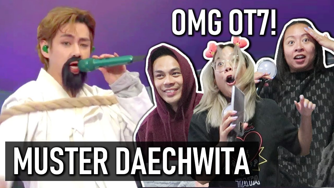 BTS Daechwita (All Members) REACTION | Muster Sowoozoo Day 1 #2021BTSFESTA [RE-UPLOAD]