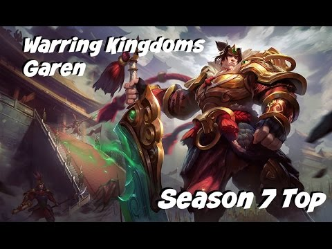 League of Legends: Warring Kingdoms Garen Top Gameplay