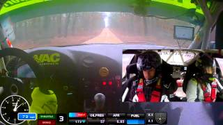BRAKIM Racing Show-Me Rally 2014 Stage 5 Fighting Through The Fog in a BMW M3