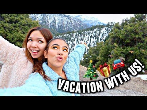 LUXURY GIRLS TRIP TO BIG BEAR!🎄 | Vlogmas Day 9