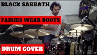 Daniel Charavitsidis - Black Sabbath - Fairies Wear Boots Drum Cover