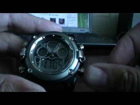Как настраивать электронные часы OHSEN