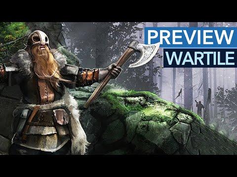 Wartile - So sieht das fast fertige Wikinger-Strategiespiel aus - Gameplay-Preview