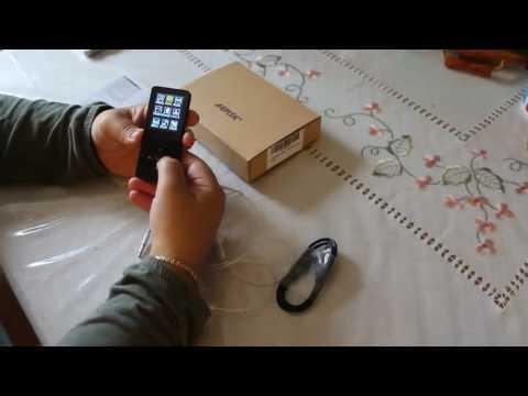 AGPtek Lecteur MP3, Son de qualité, tient dans la poche et agréable au toucher