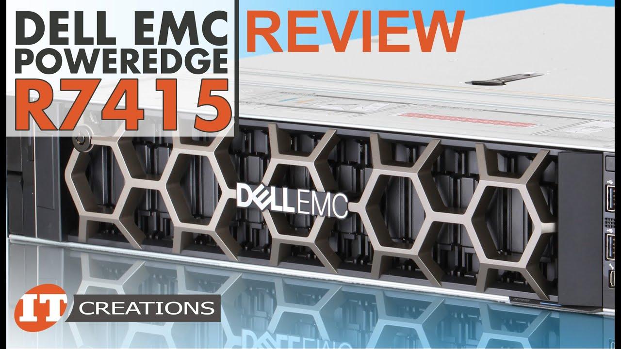 Dell EMC PowerEdge R7415 Server | IT Creations