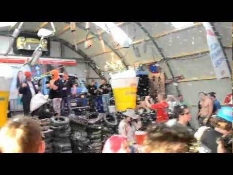 Zwarte cross 2012 Le Garage De Haan is dood