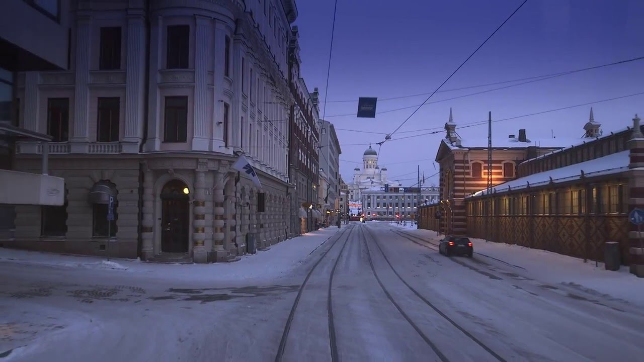 This Is Finland I Helsinki Winter I Youtube