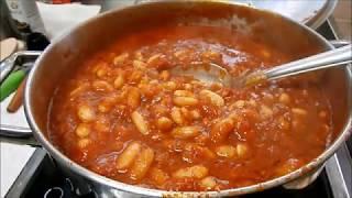 שעועית לבנה מהירה ברוטב עגבניות עם שמן זית ,בריאה ,טעימה ,פרווה,צמחוני וטבעוני בקלי קלות הערוץ הרשמי
