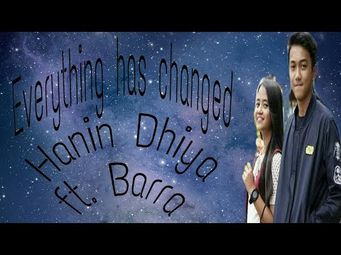 Everything Has Changed-(Taylor Swift ft. Ed Sheeran)Cover by Hanin Dhiya ft. Barra | JC lyrics