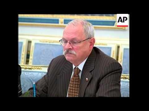 Yushchenko meets Slovak PM, Lavrov comment
