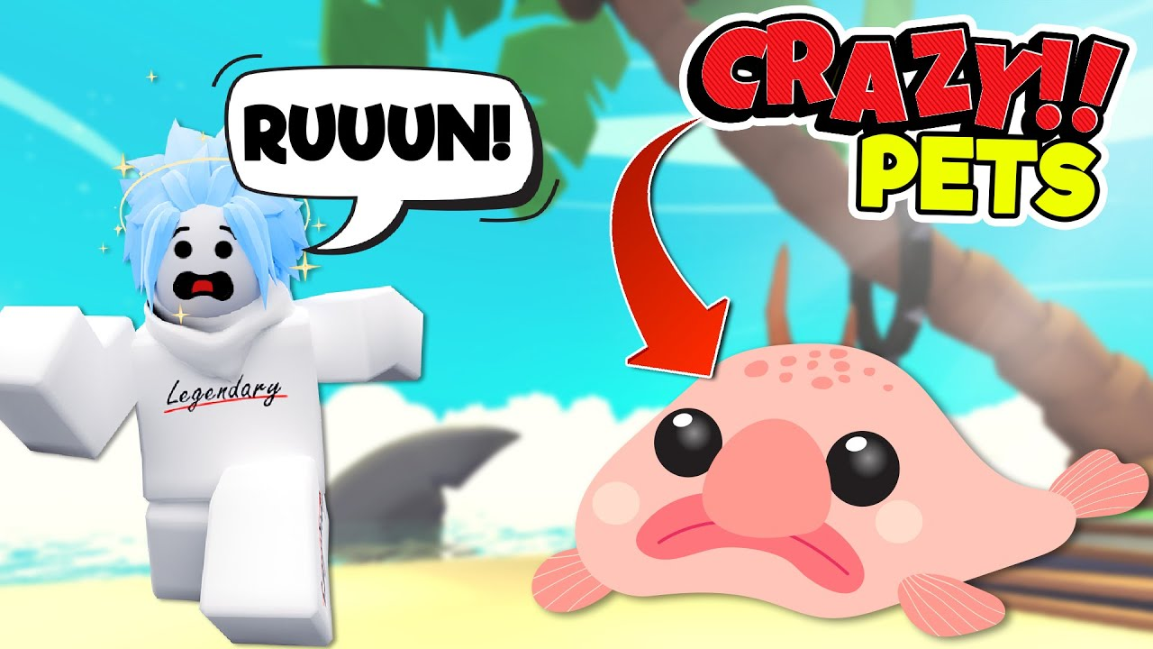 Adopt Me PETS that are just TOO GROSS! 4 x Crazy Pet Concepts