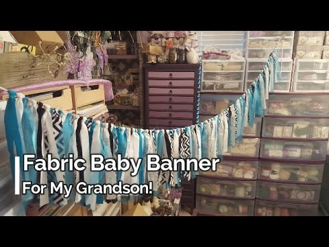 Fabric Baby Banner