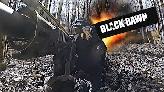 BLACK DAWN @ Southern maryland paintball | TMC GAMEPLAY - MAGFED ONLY| Bajan GhostSquad Paintball