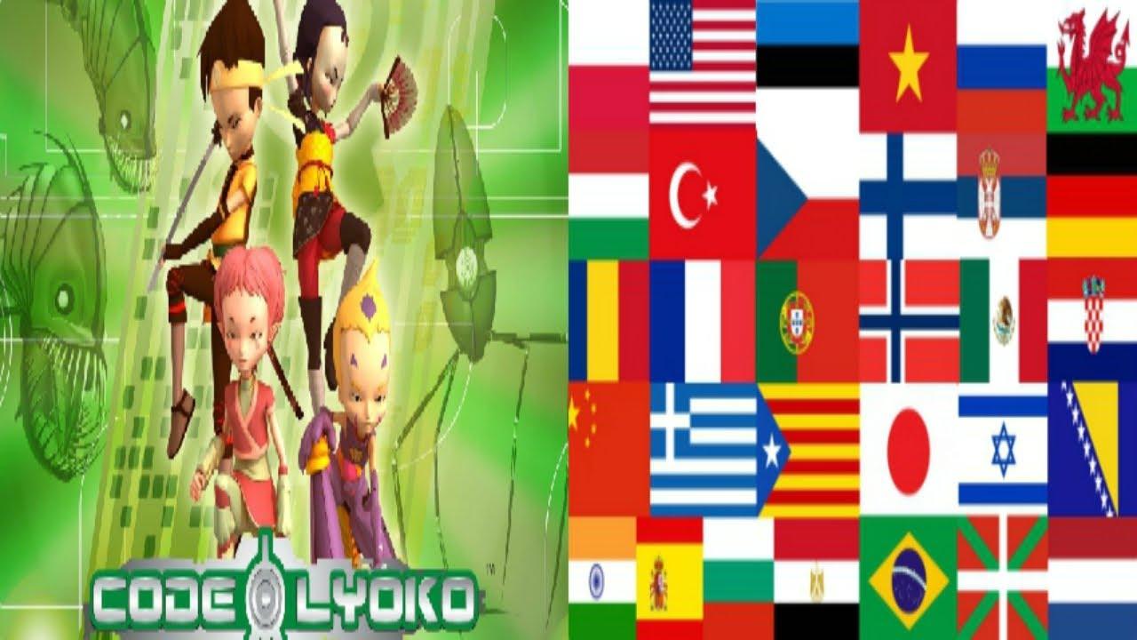Download Code Lyoko theme song multilanguage