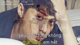 [Karaoke] Thương Mấy Cũng Là Người Dưng - Noo Phước Thịnh