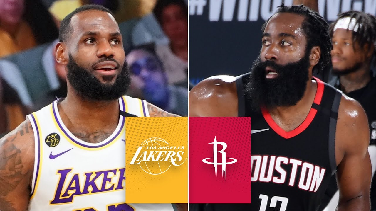Los Angeles Lakers Vs Houston Rockets Game 3 Highlights 2020 Nba Playoffs Youtube