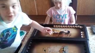 Как научится играть в нарды 6 1